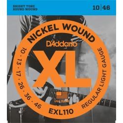 Juego Cuerdas Guitarra Electrica Daddario EXL 110 (010-046)