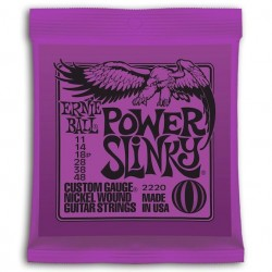 Ernie Ball 2220 Power Slinky Entorchada Purple 11-48