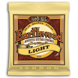 Ernie Ball 2004 Earthwood Bronce Light 011-052
