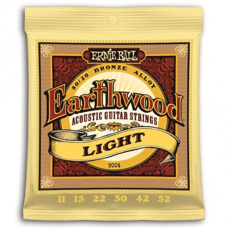 Ernie Ball Earthwood Bronce Light 11-52