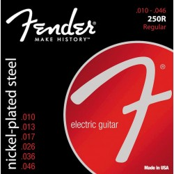 Fender 250R Nickel Plated Steel Ball End 10-46