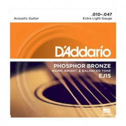 D´addario EJ15 Extra Light 010-047