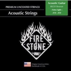 Fire&Stone Cuerda Acustica Bronce Extra Light 010-050