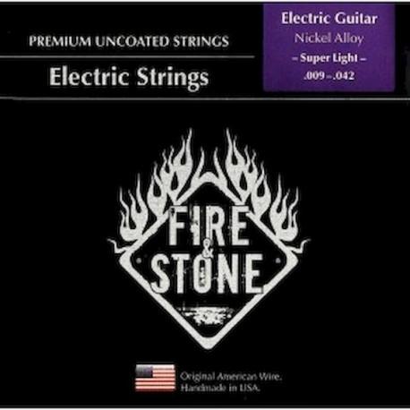 Fire&Stone Eléctrica Nickel Alloy Super Light 9-42