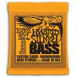 Ernie Ball Slinky Entorchado Redondo Hybrid 45-105