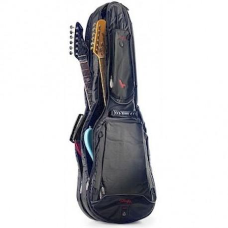 Stagg STB-SUP 20UE/UE Funda doble para dos guitarras eléctricas profesional.