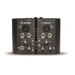 M-AUDIO M-TRACK Interface Audio Midi USB 2 Canales. Portatil