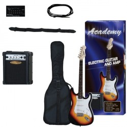 "Pack Guitarra Electrica ""ACADEMY"" Sombreada"