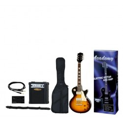 "Pack Guitarra Les Paul ""ACADEMY"" Sombreada"