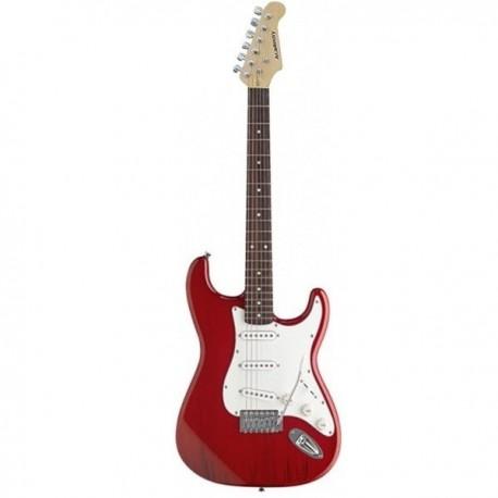 """Guitarra """"ACADEMY"""" tipo Stratocaster 602 Roja"""