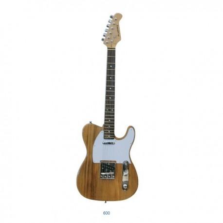 """Guitarra """"ACADEMY"""" tipo Telecaster 600 Natural"""