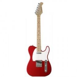 """Guitarra """"ACADEMY"""" tipo Telecaster 600 Roja"""