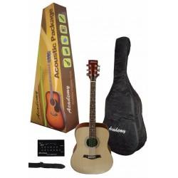 """Pack Guitarra Acústica """"ACADEMY"""" Sombreada"""