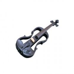 "Violin Electrificado ""CARLO GIORDANO"" EV202 4/4 Negro"