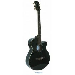 """Guitarra Acustica """"DAYTONA"""" GRO300C-Negra"""
