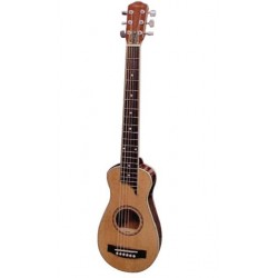 Savannah Guitarra de Viaje con Funda