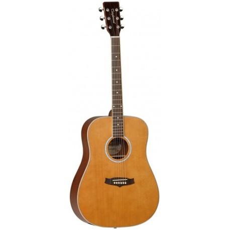 Tanglewood Guitarra Acústica TW28CSGZ Serie Evolution Para Zurdos