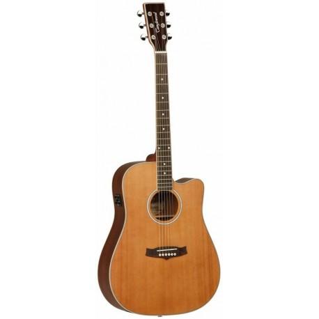 Tanglewood Guitarra Acustica TW28CSNCE Serie EVOLUTION ELECTRIFICADA