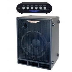 Ashdown Amplificador Cabezal Mibass 2.0 + Pantalla Bajo Mi Bass