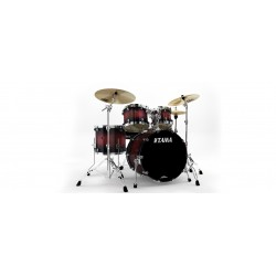 Tama Starclassic Batería Performer Lacquer PL52S-RSB