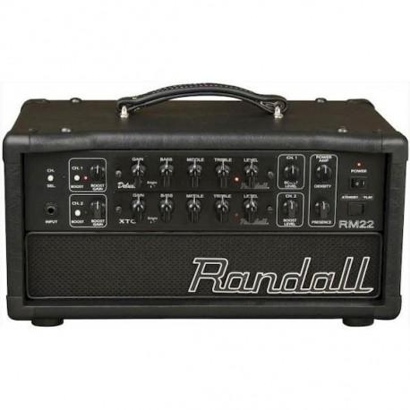 AMPLIFICADOR GUITARRA CABEZAL RANDALL MTS 18W Capacidad 2 Pre. no in