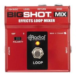 Radial Engineering BigShot MIX Effects Loop Mixer