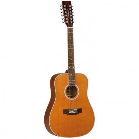 Tanglewood Guitarra Acústica TW2812CLN Serie Evolution 12 Cuerdas