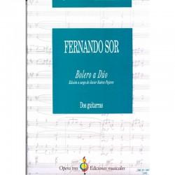 Bolero A Duo - Edicion A Cargo De Javier Suarez - Pajares - Dos Guitarras