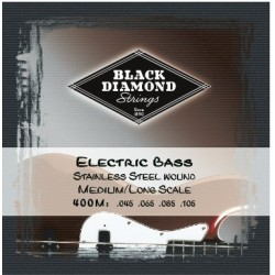 Black Diamond N400M Jgo Cuerda Bajo 045/105 4 strings.