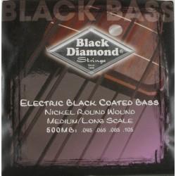 Juego Cuerda Bajo Black Diamond N500MB