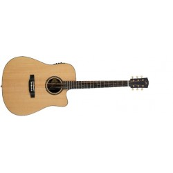 Bedell Encore Dreadnought Guitarra Electro-Acustica Con Funda