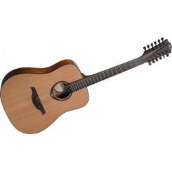 Lag T200D12 Dreadnought 12 Cuerdas Guitarra Acústica