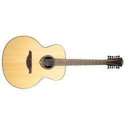 Lag Jumbo 12 Cuerdas Guitarra Acústica