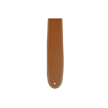 "CORREA GUITARRA DOBLE COSTURA MARRON 2.5"" PERRI´S"