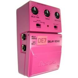 Ibanez DE7C Delay acabado rosa /pink color