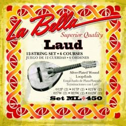 Cuerdas Laúd La Bella ML 450