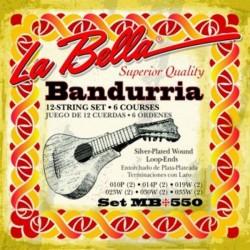 Cuerdas Bandurria La Bella MB 550