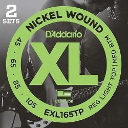 D'Addario EXL165TP Set de 2 Jgo.