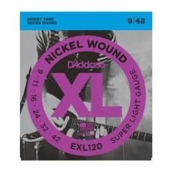 D'addario EXL-120 09/42