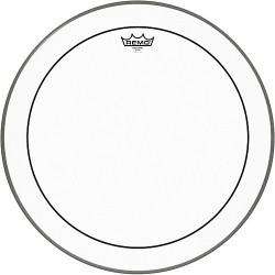 Remo Clear Weather King Pinstripe Bass Drum 20""