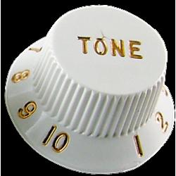 Boton Tono Fender White estilo