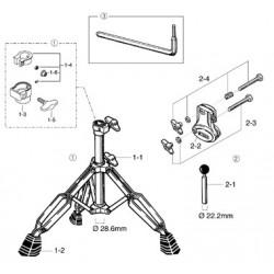 Tama HL80-R soporte timbal