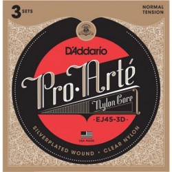 D'addario EJ45 3D Jgo Normal Tension set de 3 Uni 019954954369