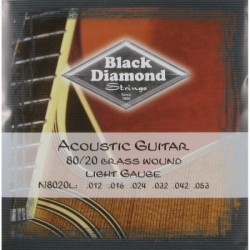 Black Diamond N8020L 012/053 Jgo Acust. Set