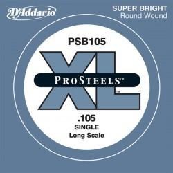 D'addario PSB105 Cuerda bajo 105 Prosteel long scale