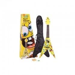 Bob Esponja Spongebob Ukelele Flying V mas acc.