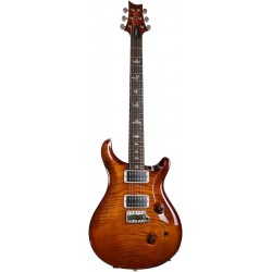 PRS USA Custom 24 Amber Sunburst +Birds