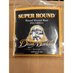 Dean Markley Bajo 4 cuerdas Super Round 46-102