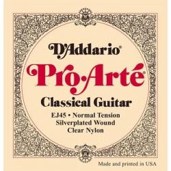 Juego Cuerdas Guitarra Española D'ADDARIO EJ-45 Normal