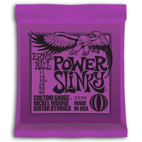 Ernie Ball Power Slinky Entorchada Purple 11-48
